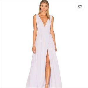 NWT Lovers + friends Leah Gown in Lavender